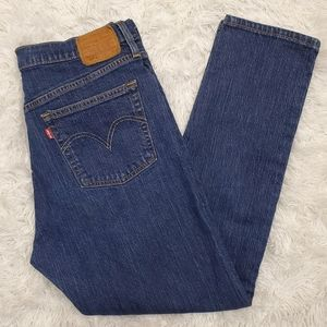 Levi's 501 Skinny High Waist Button Fly Jeans